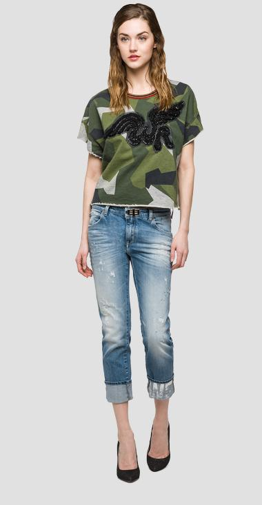 We are Replay camouflage sweatshirt - We are Replay VD7601_000_V71300_010_1