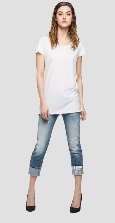 We are Replay jersey T-shirt - We are Replay VD7603_000_V22362_001_1