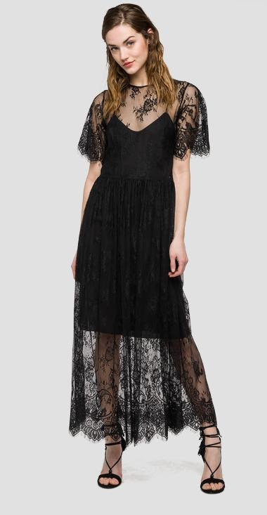 We are Replay lace dress - We are Replay VD8253_000_V82818_098_1