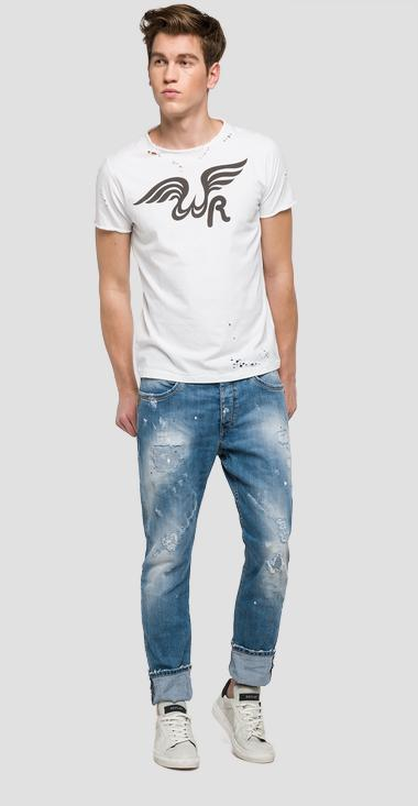 We are Replay Evidio slim fit jeans - We are Replay VU1725_000_V419G70_001_1