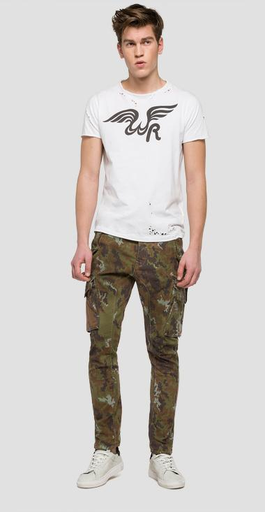 We are Replay camouflage trousers - We are Replay VU2690_000_V70495_010_1