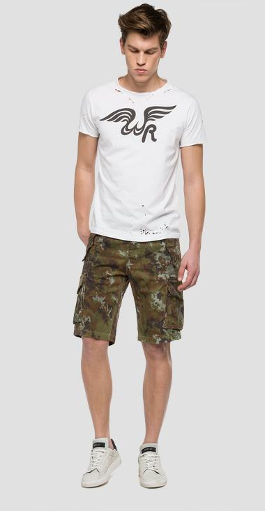 We are Replay camouflage bermuda shorts - We are Replay VU2691_000_V70495_010_1