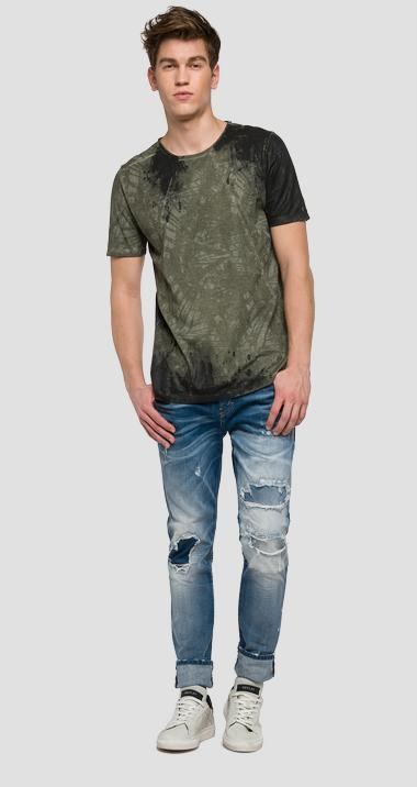 We are Replay jersey T-shirt - We are Replay VU7964_000_V21384P_010_1
