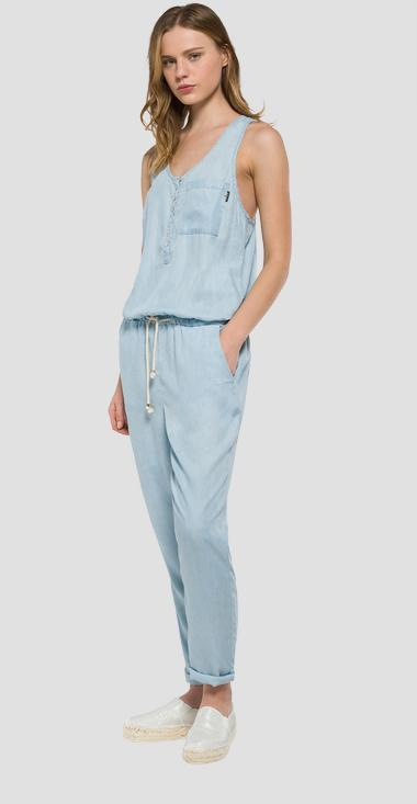 Denim jumpsuit - Replay W1016_000_24C-97B_011_1