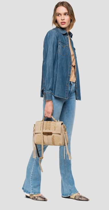 Camicia in denim con tasche - Replay W2280_000_26C-614_009_1