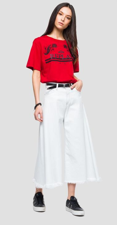 Wide fit t-shirt - Replay W3141G_000_22038_357_1