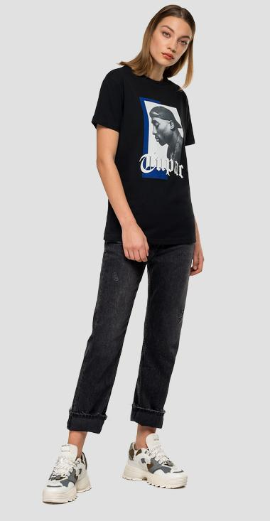 Replay Tribute Tupac Limited Edition t-shirt - Replay W3265I_000_22628A_098_1