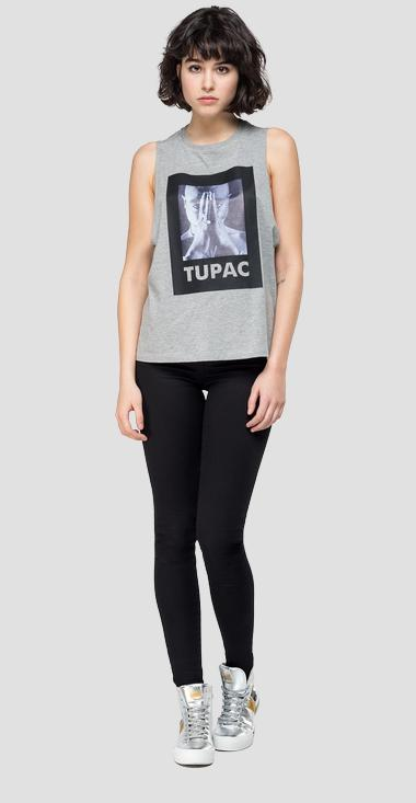 Vest Replay Tribute Tupac Limited edition - Replay W3267_000_22628_M02_1