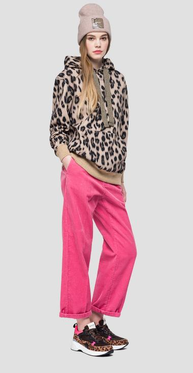 Animalier sweatshirt - Replay W3289_000_71858_010_1