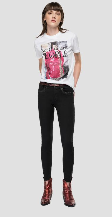 T-shirt stampa NOT ORDINARY REPLAY - Replay W3506H_000_20994_001_1