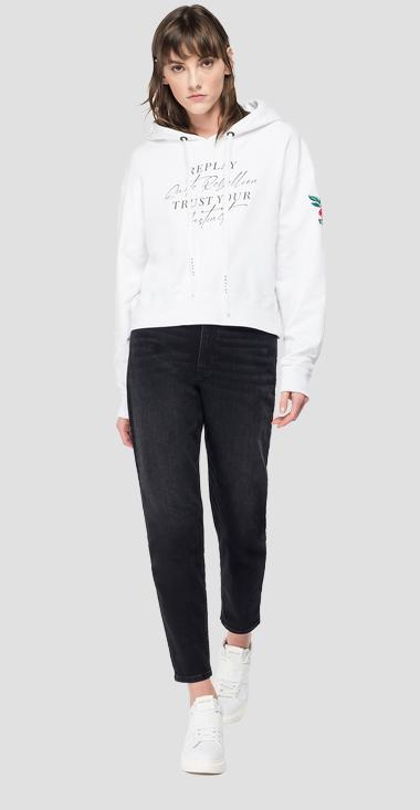 Sudadera con capucha ROSE LABEL - Replay W3548C_000_23158P_001_1