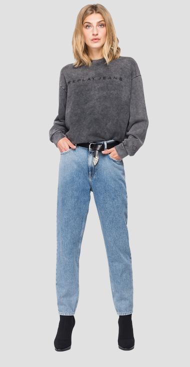 REPLAY JEANS crewneck sweatshirt - Replay W3553A_000_21842M_099_1