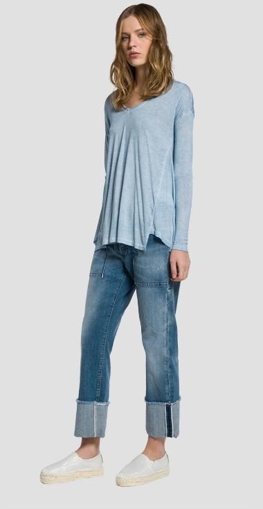 Faded jersey T-shirt - Replay W3738_000_22320T_388_1
