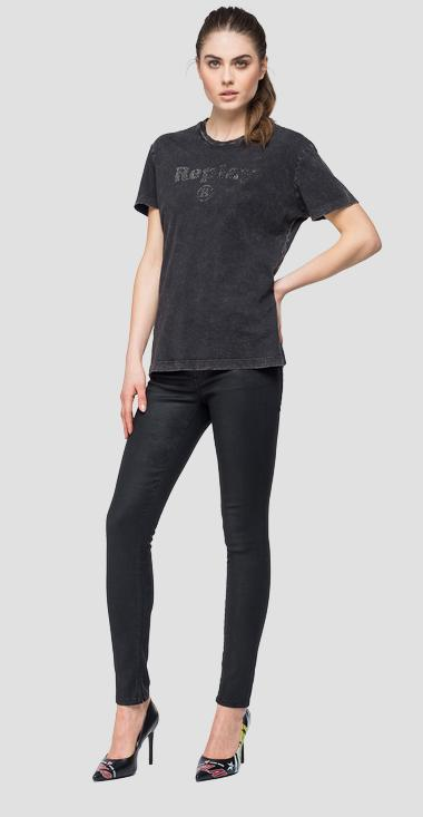 T-shirt with faded effect - Replay W3940S_000_22658M_098_1