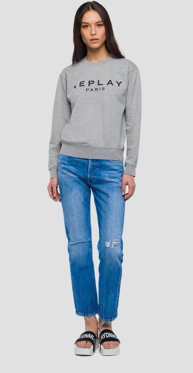 REPLAY PARIS Sweatshirt - Replay W3971I_000_22390P_M01_1