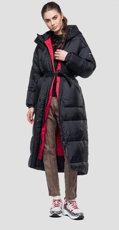 Padded jacket with hood - Replay W7450_000_83108_098_1