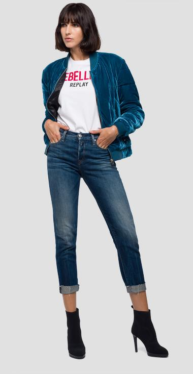 Bomber jacket extra-long sleeves - Replay W7457_000_83154_483_1