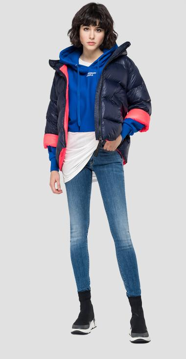 Padded trapezoid jacket - Replay W7500_000_83408_857_1