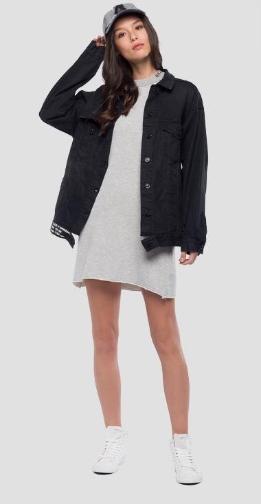 Wide fit denim jacket - Replay W7514A_000_333-412_009_1