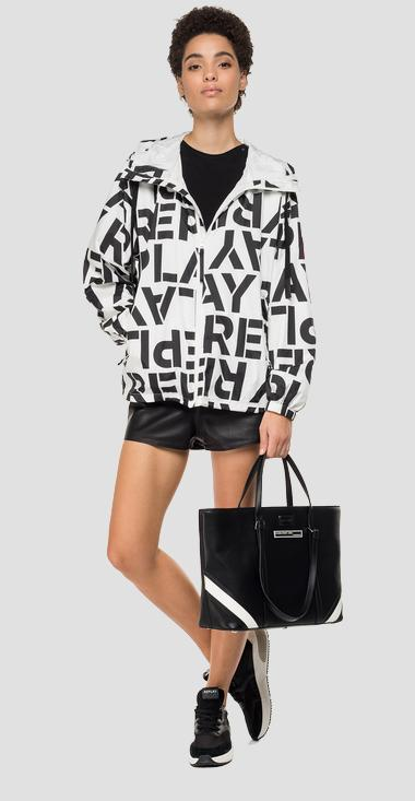 Jacket with Replay print - Replay W7551A_000_72010_020_1