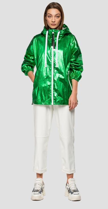 Laminated Replay jacket - Replay W7551B_000_83588_020_1