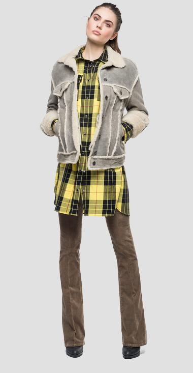 Sheepskin jacket - Replay W7558_000_83448_015_1