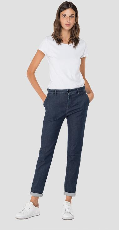 Hyperflex Chino Bettie jeans - Replay W8553_000_661-040_007_1