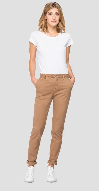 Hyperchino Color X.L.I.T.E. Bettie chino jeans - Replay W8553_000_8366197_321_1