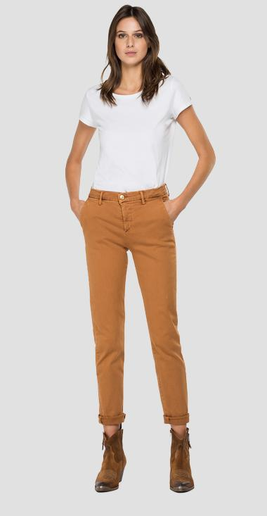 Slim fit Hyperchino Color X.L.I.T.E. Bettie jeans - Replay W8553_000_8366197_502_1