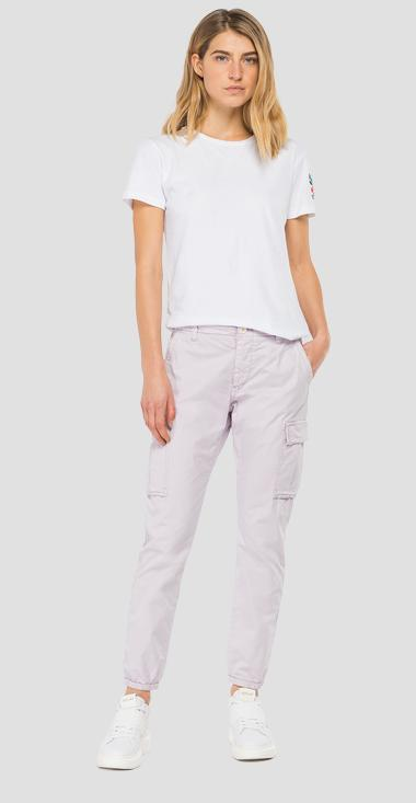 Regular fit Essential trousers with pockets - Replay W8769P_000_84073G_513_1