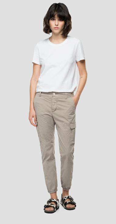 Regular fit Essential trousers with pockets - Replay W8769P_000_84073G_603_1