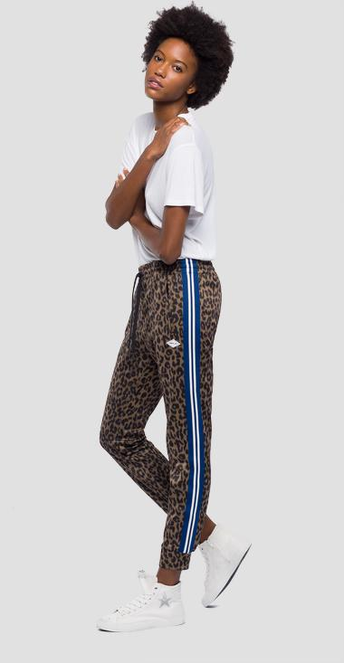 Animalier jogging pants - Replay W8793B_000_71764_010_1