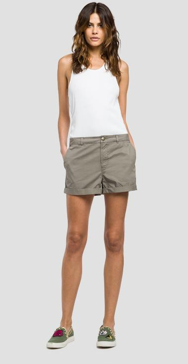 Cotton shorts - Replay W8797_000_82726_574_1