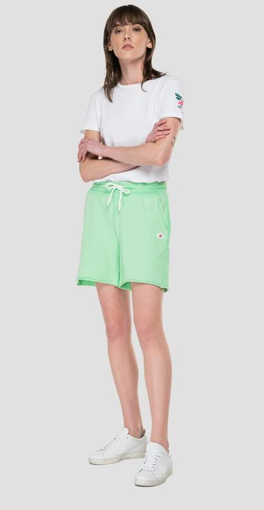 Boy fit REPLAY shorts in organic cotton - Replay W8859F_000_23158LG_331_1