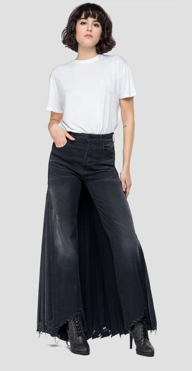 Divided skirt fit Wamy jeans - Replay W8862_000_203522P_097_1