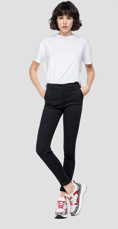 Skinny fit Hyperflex Lysa chino - Replay W8877_000_8166197_040_1