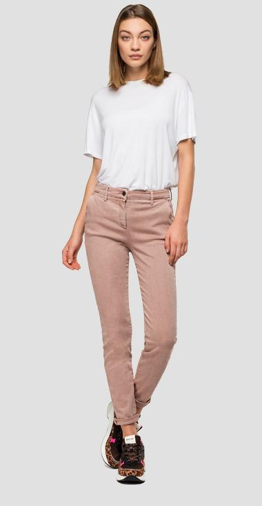 Skinny fit Hyperflex Lysa chino - Replay W8877_000_8166197_560_1