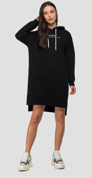 Sweatshirt dress with hood - Replay W9480_000_21842_098_1