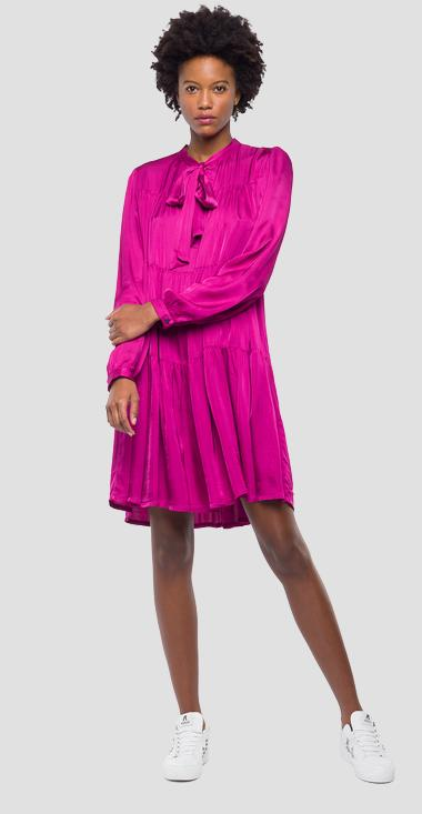 Shirt dress in cotton twill - Replay W9538_000_83332G_306_1