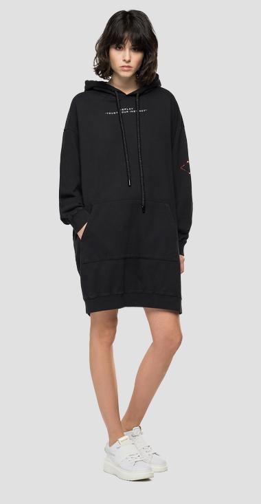 REPLAY oversized sweatshirt dress - Replay W9697_000_23158G_098_1