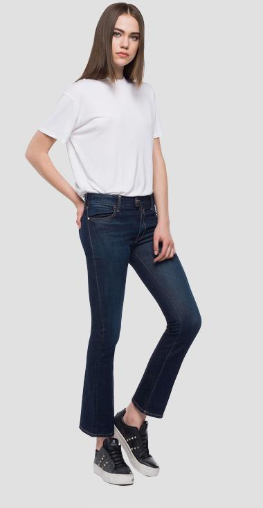 Cropped boot fit Touch jeans - Replay WA400_000_067-T10_009_1