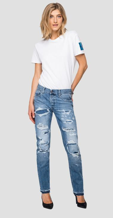 Straight fit Joplyn Rose Label jeans - Replay WA405H_000_50C-790_009_1
