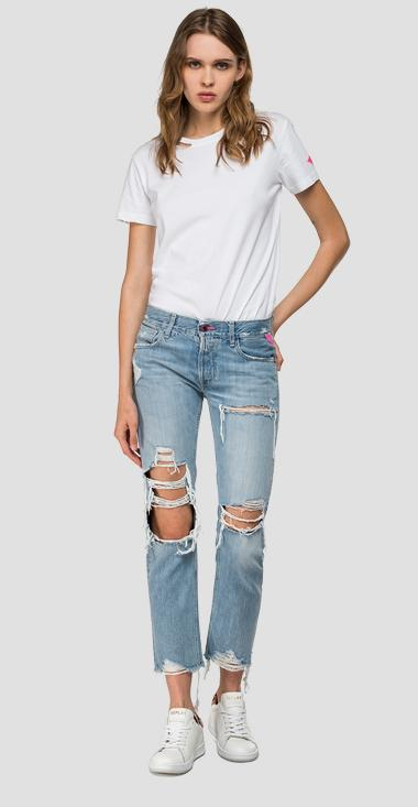 Straight fit Joplyn jeans Rose Label - Replay WA405_000_50C680R_009_1