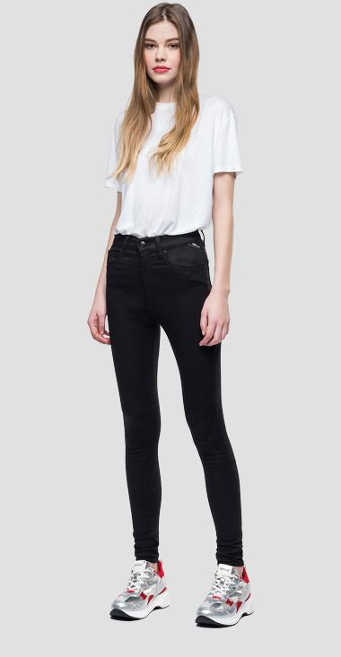 Super skinny high waist fit Leyla Hyperflex jeans - Replay WA414_000_661-10B_098_1
