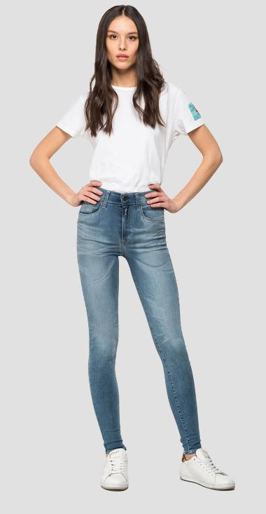 Skinny fit Leyla Hyperflex bio jeans - Replay WA414_000_661-A05_009_1