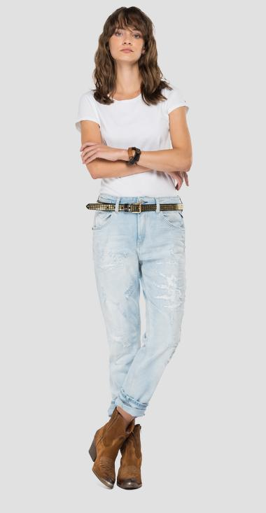ROSE LABEL boy fit Marty jeans - Replay WA416T_000_207-87R_011_1