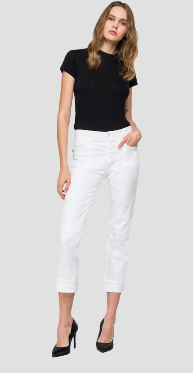 Jeans straight fit Maghy Rose Label - Replay WA423_000_8005205_001_1