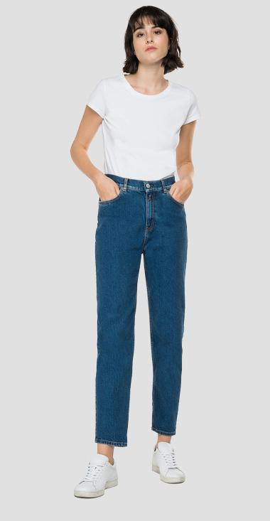 High waist tapered fit Kiley jeans - Replay WA434A_000_319-989_009_1