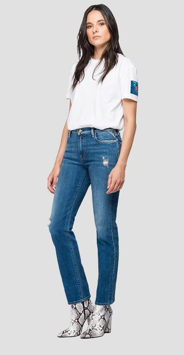 Straight Fit Jeans Julye Rose Label - Replay WA437R_000_319714P_009_1
