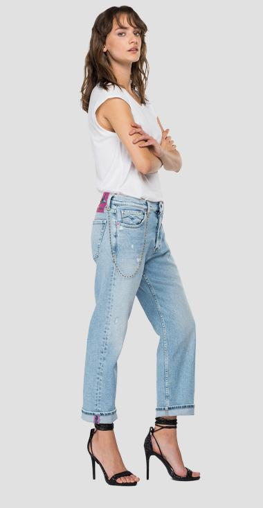 ROSE LABEL low waist slouchy fit Leony jeans - Replay WA454R_000_207-81D_010_1